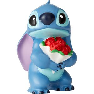 Disney Showcase Stich with Flowers Figurine