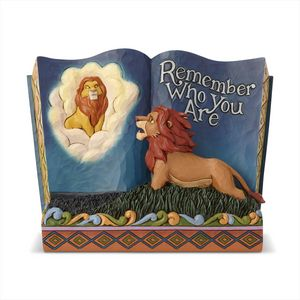 Disney Traditions Storybook Figurine - Remember Who You Are (Lion King)