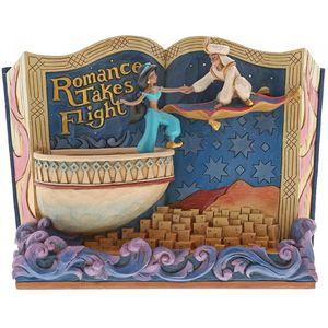 Disney Traditions Scene Figurine - Romance Takes Flight (Aladdin)
