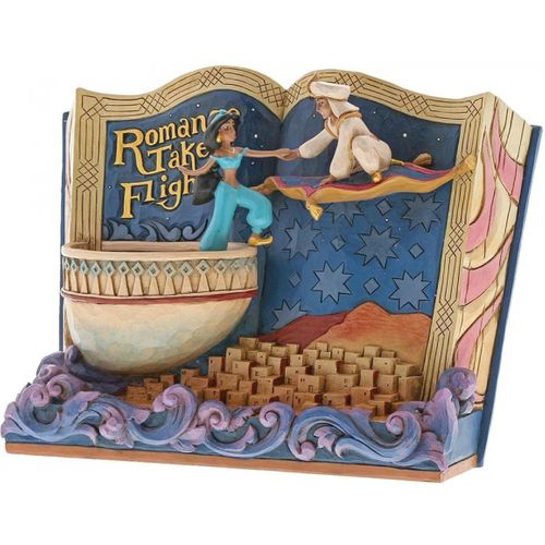 Disney Traditions Storybook Figurine - Romance Takes Flight (Aladdin)