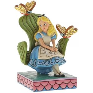 Disney Traditions Curiouser and Curiouser (Alice in Wonderland) Figurine
