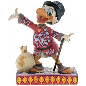 Disney Traditions Treasure Seeking Tycoon (Scrooge) Figurine