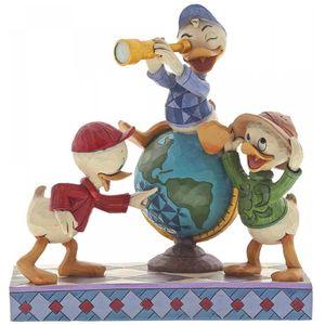 Disney Traditions Navigating Nephews (Huey, Dewie and Louie) Figurine