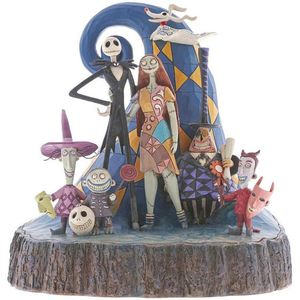 Disney Traditions Carved by Heart Figurine - What a Wonderful Nightmare