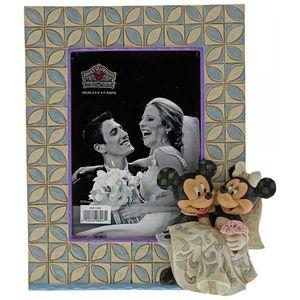 "Disney Traditions Photo Frame 3.5"" x 5"" - Mickey & Minnie Mouse Wedding"