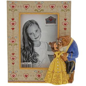 """Disney Traditions Photo Frame 3.5"""" x 5"""" - Beauty & The Beast"""