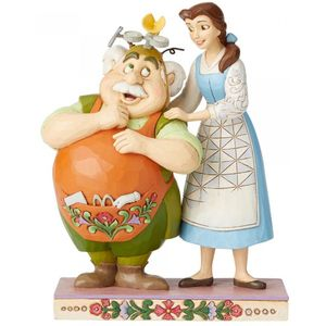 Disney Traditions Belle & Maurice Figurine