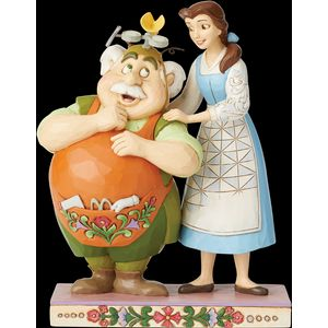 Disney Traditions Devoted Daughter (Belle & Maurice Beauty & The Beast) Figurine