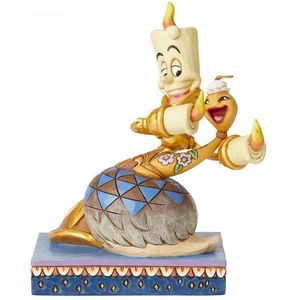 Disney Traditions Lumiere & Feather Duster Figurine