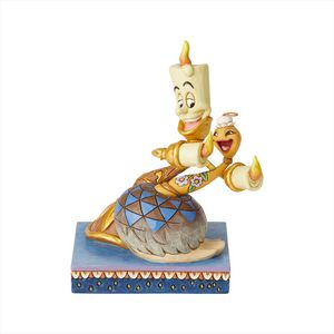 Disney Traditions Romance by Candlelight (Lumiere & Feather Duster) Figurine