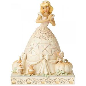 Disney Traditions White Woodland Figurine Cinderella