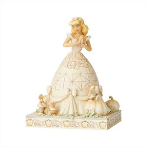 Disney Traditions White Woodland Figurine - Darling Dreamer (Cinderella)