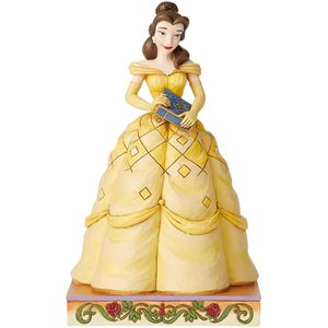 Disney Traditions Book-Smart Beauty (Belle Princess Passion) Figurine