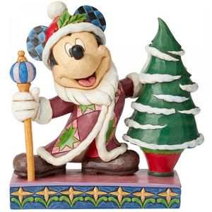Disney Traditions Mickey Mouse Father Christmas Figure