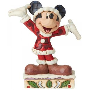 Disney Traditions Tis a Splendid Season (Mickey Mouse) Christmas Figurine