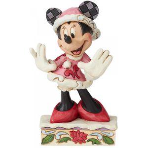 Disney Traditions Festive Fashionista (Minnie Mouse) Christmas Figurine