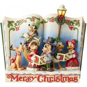 Disney Traditions Christmas Carol Storybook Figurine