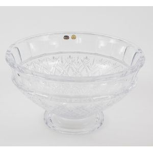 Bohemia Glassware Large Crystal Comport Bowl