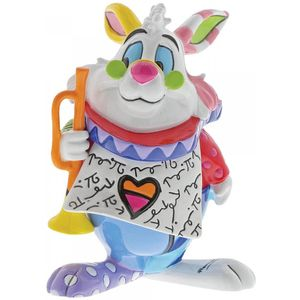 Disney Britto White Rabbit Mini Figurine