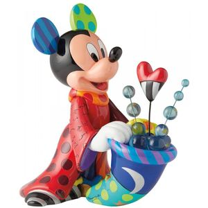 Disney Britto Sorcerer Mickey Mouse Statement Figurine