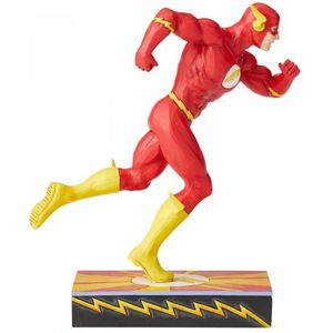 DC Comics Scarlet Speedster (Flash) Silver Age Figurine by Jim Shore