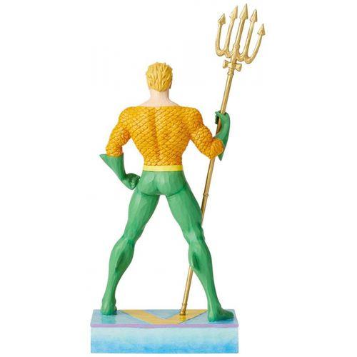 DC Comics by Jim Shore King of the Seven Seas (Aquaman) Silver Age Figurine 6003026