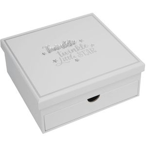 Celebrations Keepsake Box with Drawer & Photo Album - Twinkle Twinkle