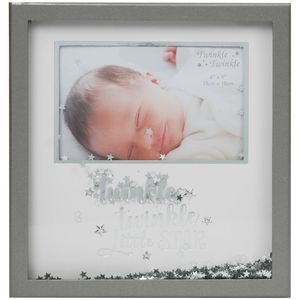 Celebrations Twinkle Twinkle Shadow Box Photo Frame 6x4""