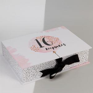 Luxe Birthday Keepsake Box - 16