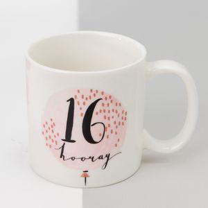 Luxe Ceramic Female Birthday Mug - 16