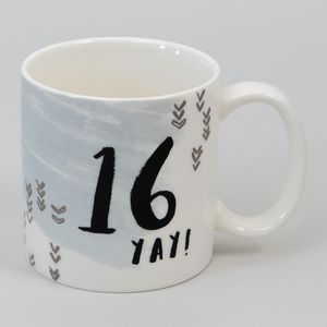 Hotchpotch Luxe Birthday Ceramic Mug - 16 (Male)