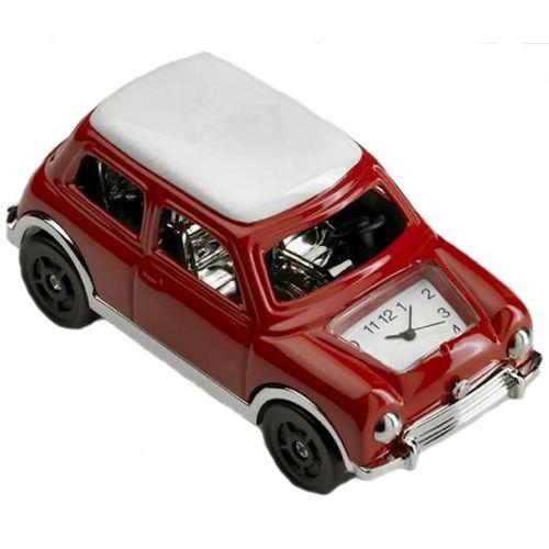 Red Mini Miniature desk top Clock