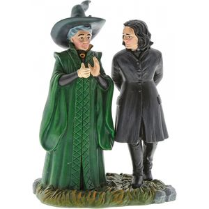 Harry Potter Professor Snape & Professor Minerva McGonagal Figurine