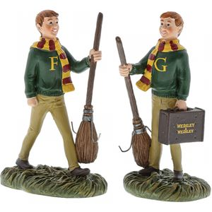 Harry Potter The Weasley Twins Figurines