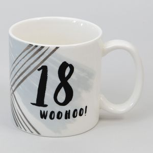 Hotchpotch Luxe Birthday Ceramic Mug - 18 (Male)