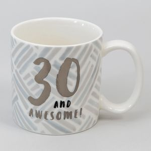 Hotchpotch Luxe Birthday Ceramic Mug - 30 (Male)