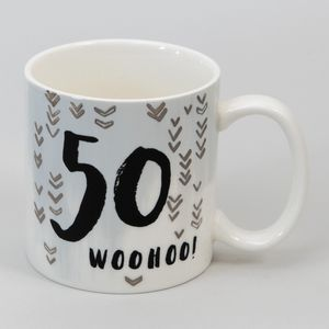 Hotchpotch Luxe Birthday Ceramic Mug - 50 (Male)