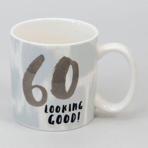 Hotchpotch Luxe Birthday Ceramic Mug - 60 (Male)