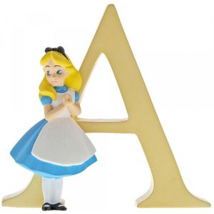 Disney Letter A Figurine: Alice (Alice in Wonderland)
