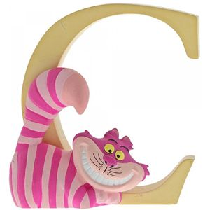Disney Letter C Figurine: Cheshire Cat (Alice in WL)