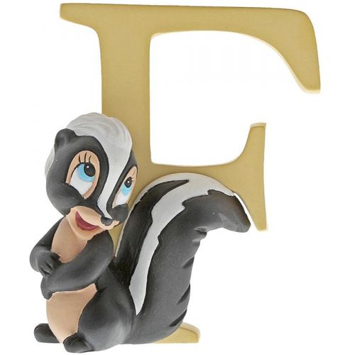 Disney Letter F Figurine - Flower Skunk from Bambi A29551