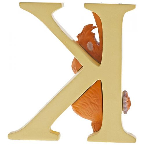 Disney Letter K Figurine - King Louie Jungle Book A29556