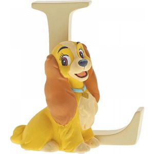 Disney Letter L Figurine: Lady (Lady & The Tramp)