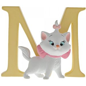 Disney Letter M Figurine: Marie (The Aristocats)