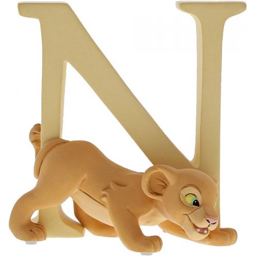 Disney Letter N Figurine - Nala The Lion King A29559