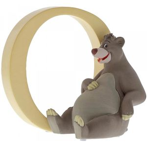 Disney Letter O Figurine: Baloo (Jungle Book)