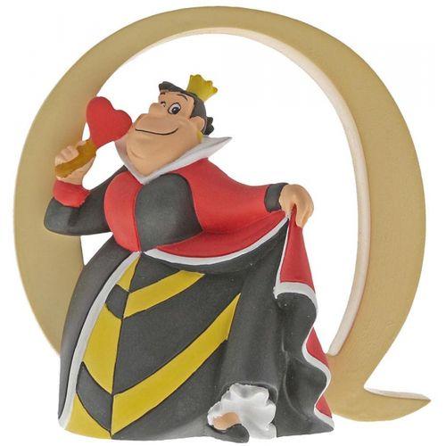 Disney Letter Q Figurine - Queen of Hearts Alice in Wonderland A29562