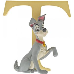 Disney Letter T Figurine: Tramp (Lady & The Tramp)