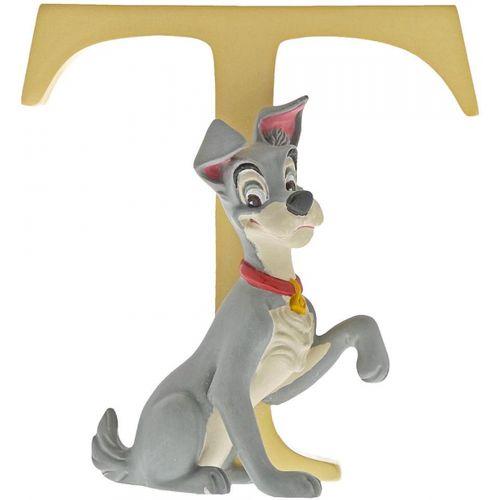 Disney Letter T Figurine - Tramp (Lady & the Tramp) A29565
