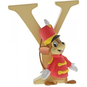Disney Letter Y Figurine: Timothy Mouse (Dumbo)